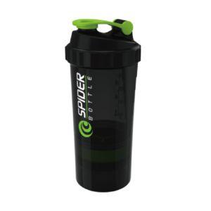 [Spider Bottle]德國專利 三層式螺旋彈簧搖搖杯 (600ml)-綠色