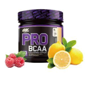 [美國 ON] ProBCAA 支鏈胺基酸-覆盆子檸檬 (390g/罐)(20份)