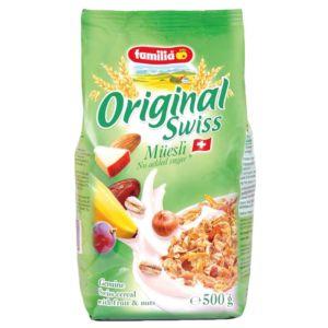 [瑞士全家] 無蔗糖水果綜合穀物早餐麥片 (500g/包)