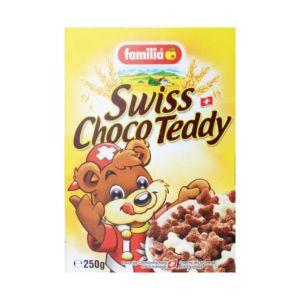 [瑞士全家] 小熊巧克力夾心脆穀(250g/盒)