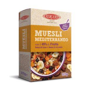 [義大利 Mercanti] 地中海水果麥片 (375g/盒) {效期: 2019-04-30}