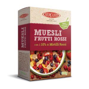 [義大利 Mercanti] 野莓綜合穀物 (300g/盒)