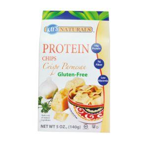 [美國 Kay's Naturals] 帕馬森起司蛋白質夾心餅乾 (140g/盒)