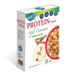 [美國 Kay's Naturals] 蘋果肉桂蛋白質早餐榖圈 (269g/包)