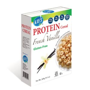 [美國 Kay's Naturals] 法式香草蛋白質早餐榖圈 (269g/包)