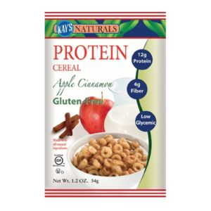 [美國 Kay's Naturals] 蘋果肉桂蛋白質早餐榖圈 (34g/包)