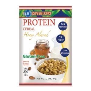 [即期品] [美國 Kay's Naturals] 蜂蜜杏仁蛋白質早餐榖圈 (34g/包)