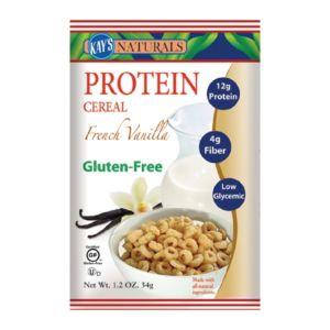 [美國 Kay's Naturals] 法式香草蛋白質早餐榖圈 (34g/包)