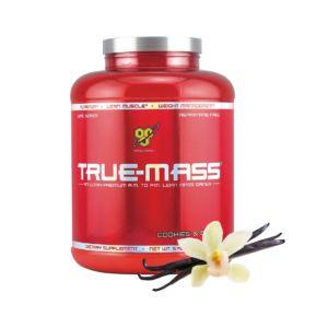 [BSN] True-Mass 高熱量乳清蛋白-香草 (5磅/罐)
