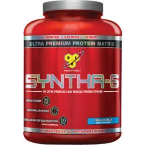 [美國 BSN] Syntha-6乳清蛋白-香草(5磅/罐)