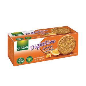 [西班牙Gullon榖優] 燕麥橙香消化餅 (425g/盒)