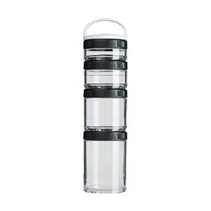 [Blender Bottle] Gostak 四層多功能組合罐-神秘黑 (350ml)