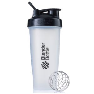 [Blender Bottle] Classic搖搖杯(840ml/28oz)-透明黑