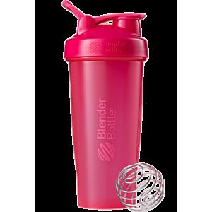 [Blender Bottle] Classic搖搖杯(840ml/28oz)-全彩粉色