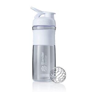 [Blender Bottle] SportMixer Grip(830ml/28oz)-時尚白