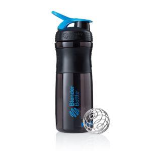 [Blender Bottle] SportMixer Grip(830ml/28oz)-黑晴藍