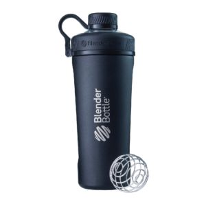 [Blender Bottle] Radian Stainless Steel 大容量搖搖杯(768ml/26oz)-神秘黑