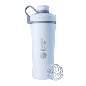 [Blender Bottle] Radian Stainless Steel 大容量搖搖杯(768ml/26oz)-時尚白