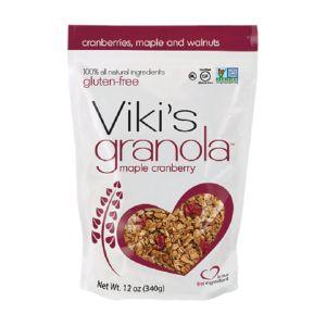 [即期品] [Viki's Granola] 無麩質楓糖蔓越莓穀諾拉 (340g/包) {效期: 2019-03-12}