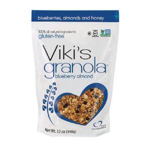 [Viki's Granola] 無麩質藍莓杏仁穀諾拉 (340g/包) {效期: 2019-03-19}