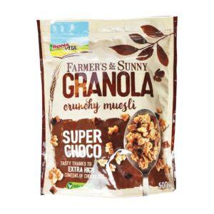[捷克 BONAVITA] 超級巧克力酥脆穀物(500g/袋)
