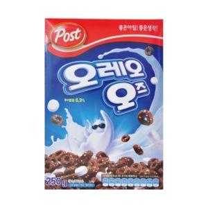 [韓國 Post] 奧利歐巧克力棉花糖穀類早餐 (250g/盒)