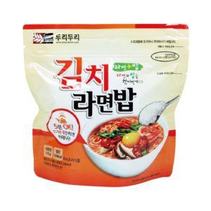 [韓國DooriDoori] 泡菜風味泡麵泡飯 (105g/包)