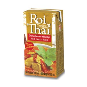 [泰國 Roi Thai] 泰式紅咖哩 (500ml/罐)