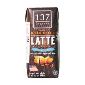 [137 degrees] 咖啡拿鐵杏仁堅果奶 (180ml/罐)
