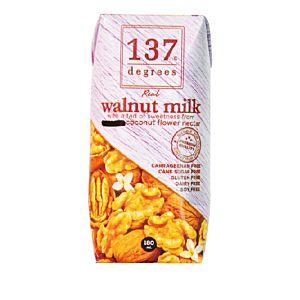 [137 degrees] 原味核桃堅果奶 (180ml/罐)