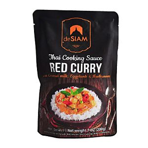 [deSIAM] 泰式紅咖哩調理醬包 (200g/包) {效期: 2019-05-10}