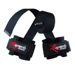 [Lexports] 專業重訓健身拉力帶(強力護腕止滑版)-黑色