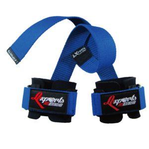 [LEXPORTS] 專業重訓健身拉力帶(強力護腕止滑版)-藍色