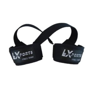 [Lexports]專業級重訓健身高拉力帶-黑色