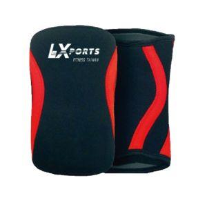 [LEXPORTS] 重訓健身舉重護膝套-動力防護型 (2入/對)