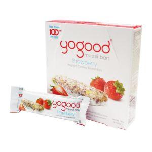 [Yogood優纖] 活力穀物燕麥棒-草莓 (6條/盒)