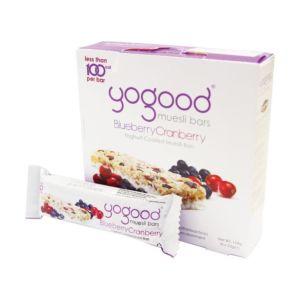 [Yogood優纖] 活力穀物燕麥棒-優格/蔓越莓/藍莓 (6條/盒)