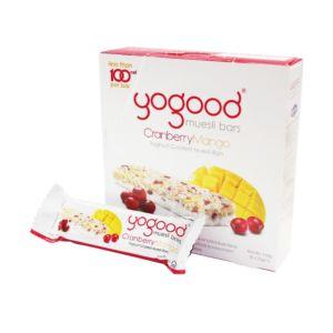 [Yogood優纖] 活力穀物燕麥棒-優格/蔓越莓/芒果 (6條/盒)