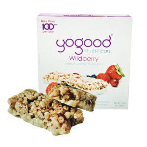 [Yogood優纖] 活力穀物燕麥棒-野莓優格 (6條/盒)
