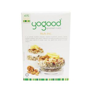 [Yogood優纖] 綜合堅果燕麥片 (370g盒)