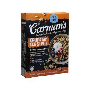 [澳洲 Carman's] 蜂蜜烤堅果卡滋榖塊 (500g/盒)