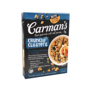 [澳洲 Carman's] 藍莓烤杏仁喀滋榖塊 (500g/盒)