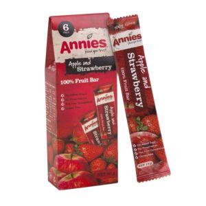 [紐西蘭 Annies] 全天然草莓水果條 (15g/包 6片裝)