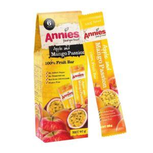 [紐西蘭Annies] 全天然百香芒果水果條(15g/包 6片裝)