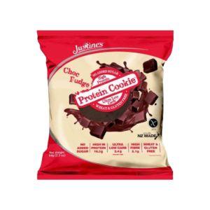 [紐西蘭 Justine's] 蛋白餅乾-雙倍巧克力(64g/片)