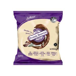 [紐西蘭 Justine's] 蛋白布朗尼-雙倍巧克力(80g/片)