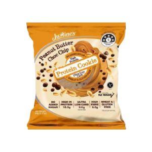 [紐西蘭 Justine's] 蛋白餅乾-花生奶油巧克力(64g/片)