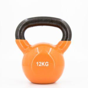 [ABsport] 包膠壺鈴12kg-橘