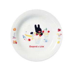 [Gaspard et Lisa 麗莎和卡斯柏] 點心盤 (聖代/日本製)