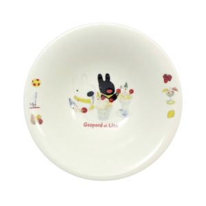 [Gaspard et Lisa 麗莎和卡斯柏] 麥片碗 (聖代/400ml/日本製)